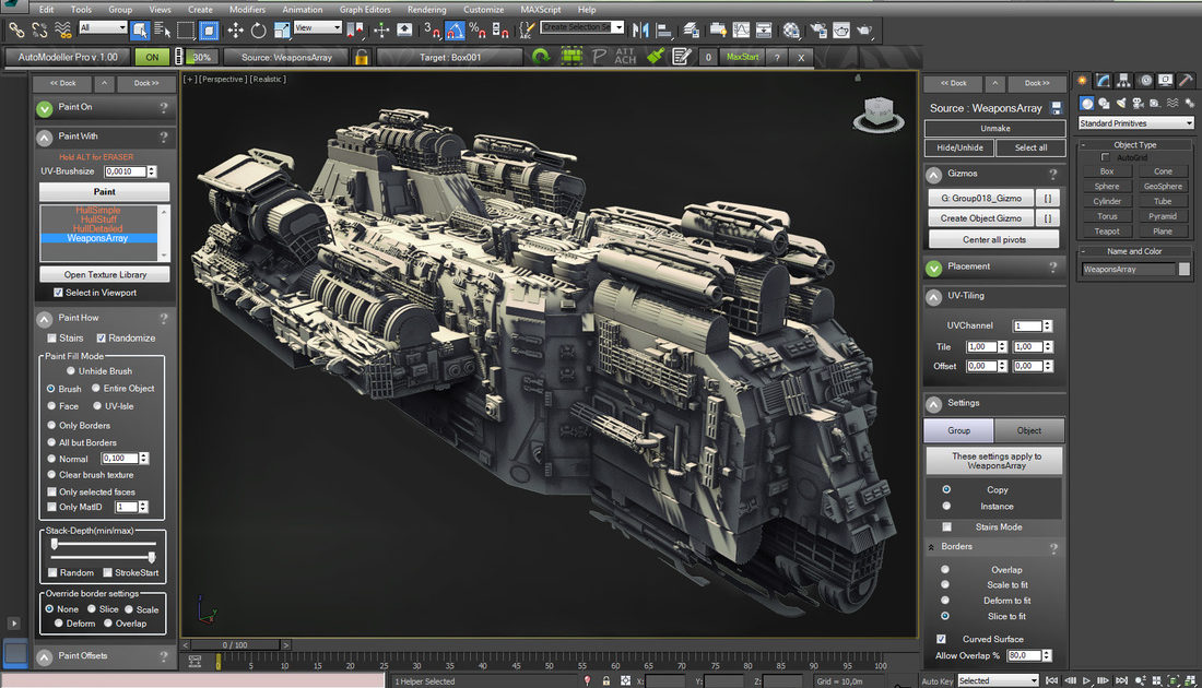 Geometry Texturesfor 3ds max