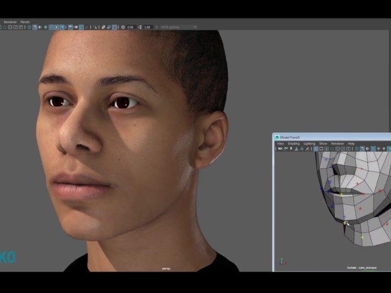 EISKO - 3D Facial Rig