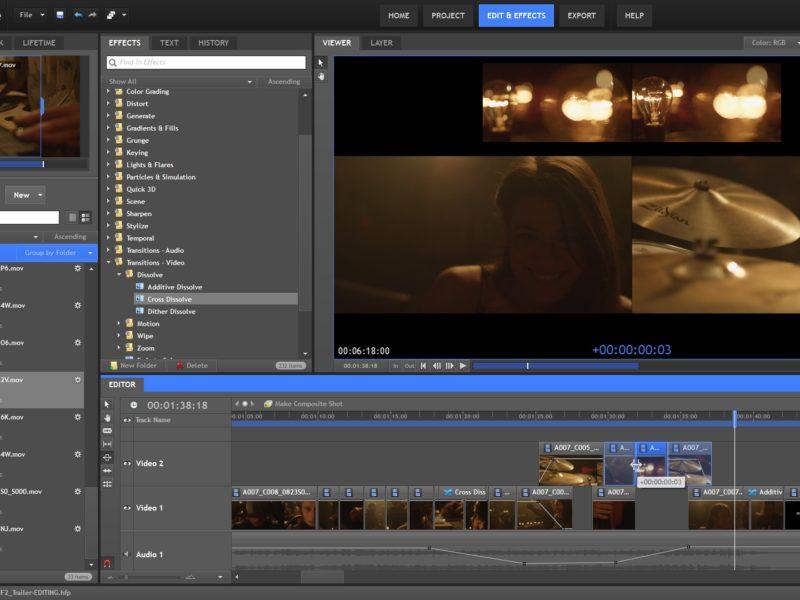 Hitfilm 2 エクスプレス2月4日まで無料
