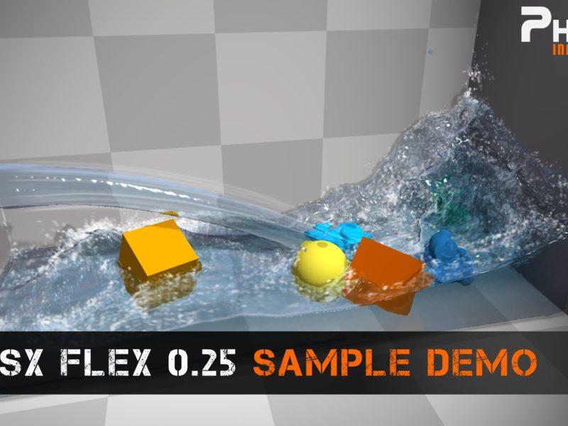 NVIDIA PhysX Flex 0.25