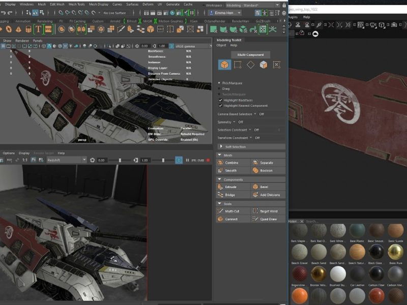 Substance Painte Live Link (MODO/Maya/Blender)