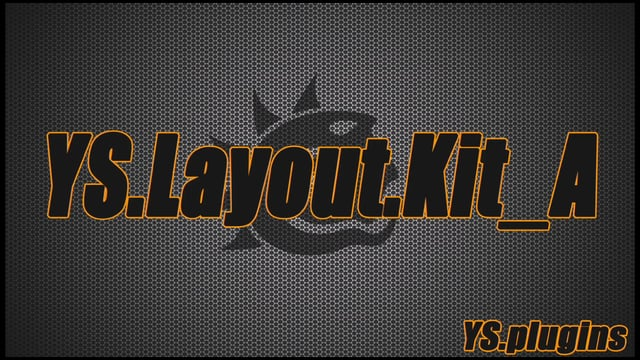 LightWave用プラグイン「YS:LayoutKitA」「YS:LayoutKitB」リリース