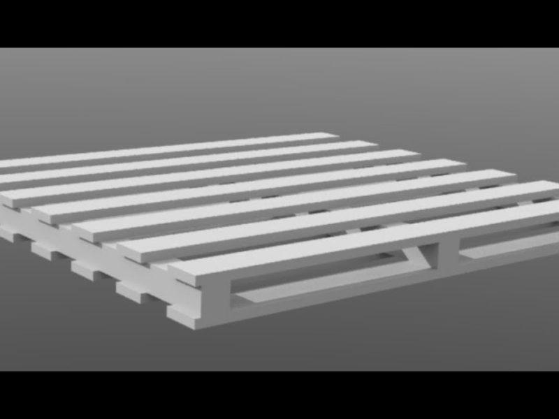 modoのプロシージャルモデリングを使用したアセット