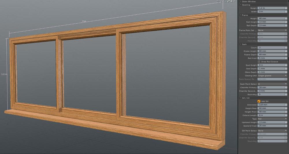 Window Maker Kit for MODO