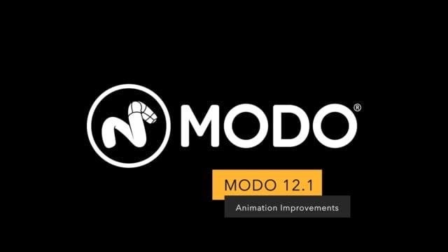 Modo 12.1 リリース