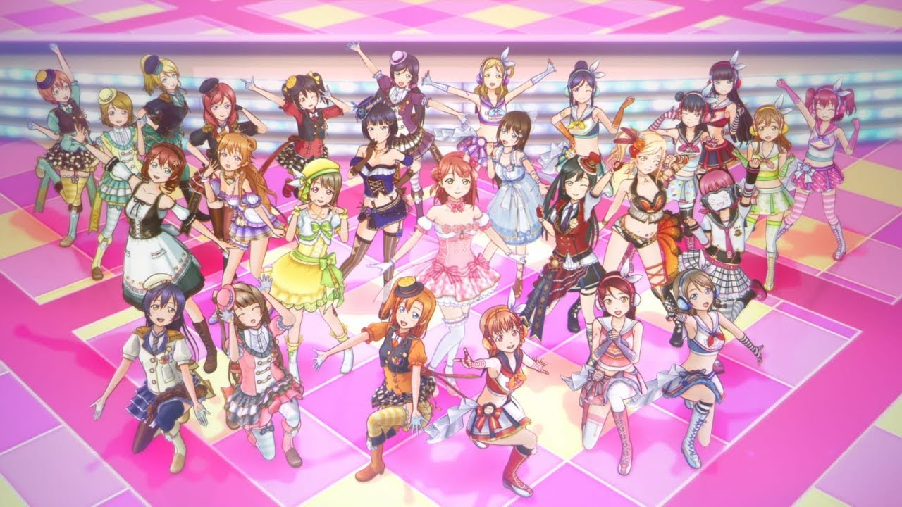 「ラブライブ!スクールアイドルフェスティバルALL STARS」OPムービー