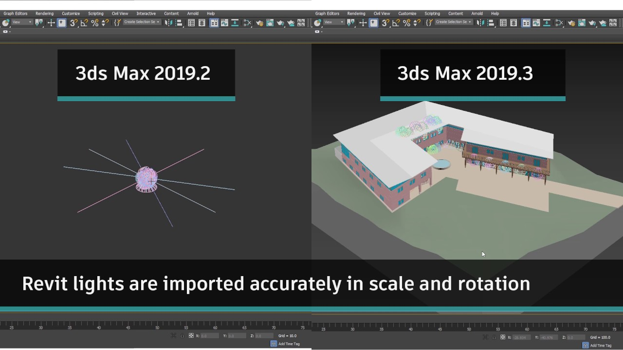3ds Max 2019.3 リリース