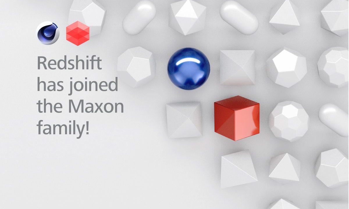MAXONがREDSHIFTの買収