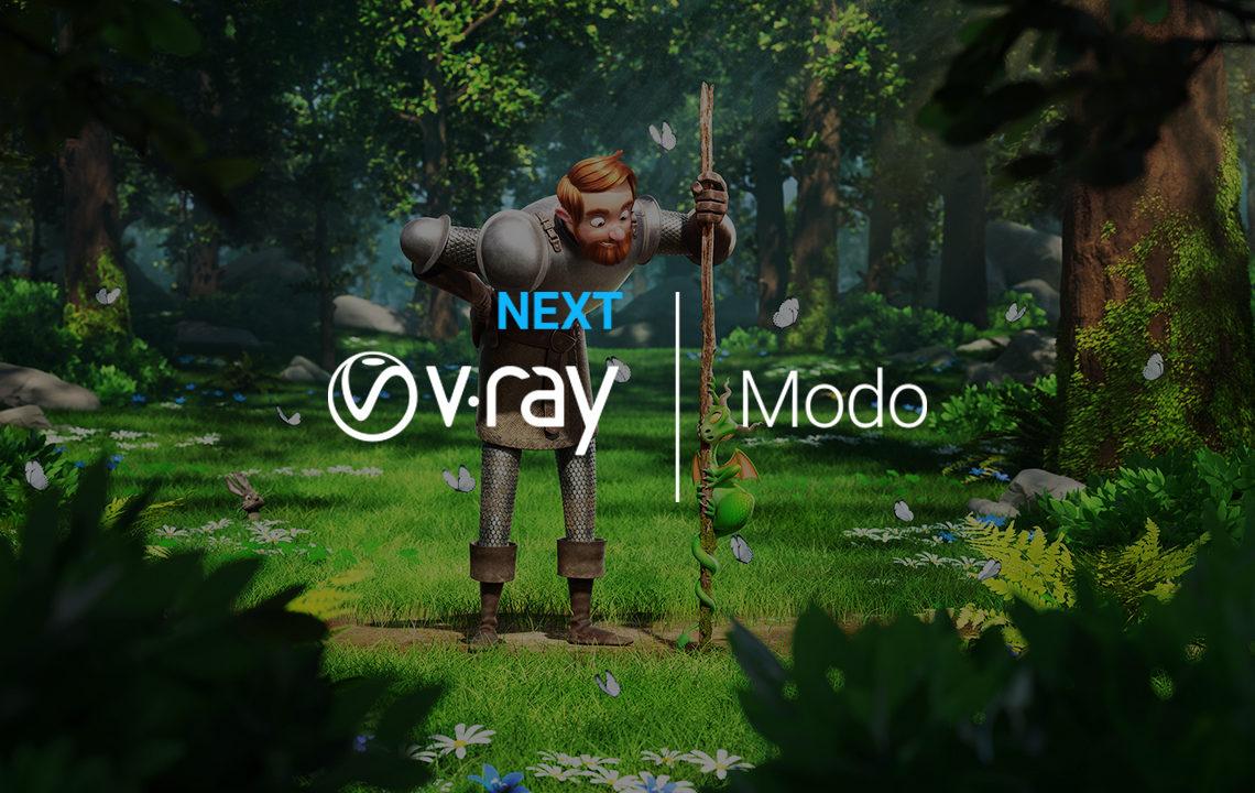 V-RAY NEXT FOR MODO リリース