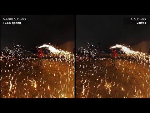 KandaoのAIを使用したスーパースローモーション変換
