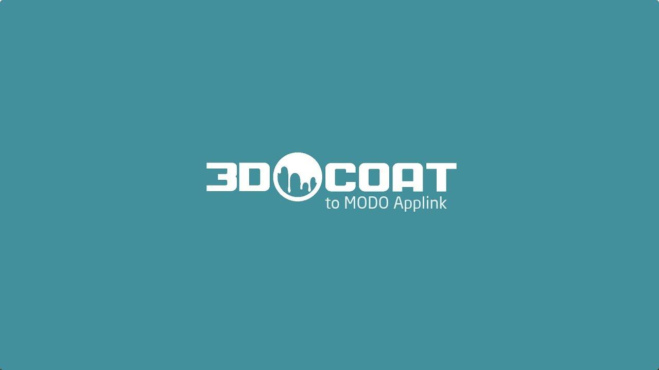 新しいModo-3DCoat Applink