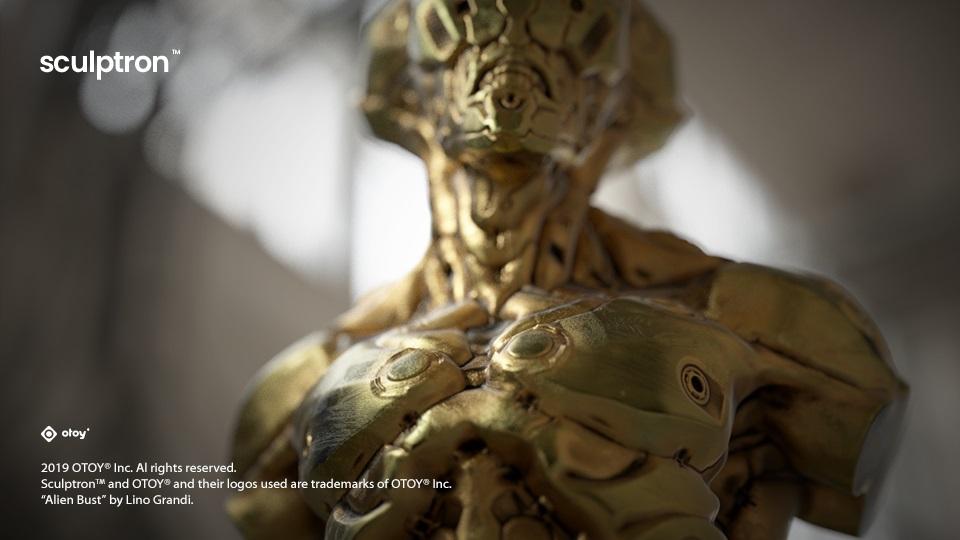 Sculptron 1.0 アルファプレビューリリース