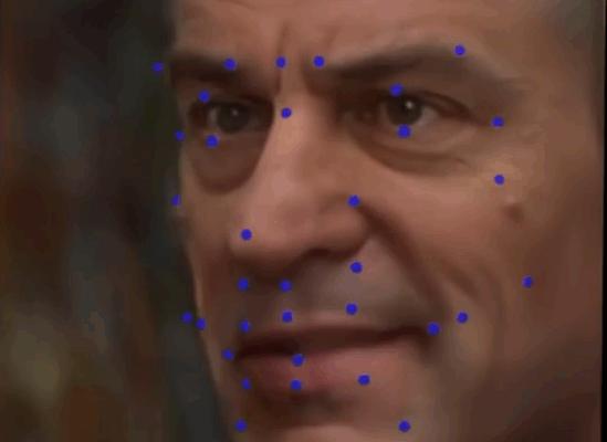 AIを使用した2Dビデオのフェイスリグ