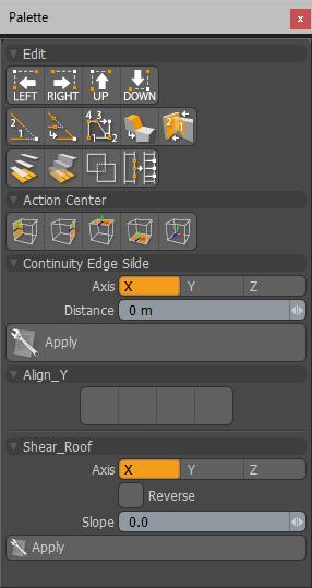 modoのモデリングスクリプト集「mihi_tools」