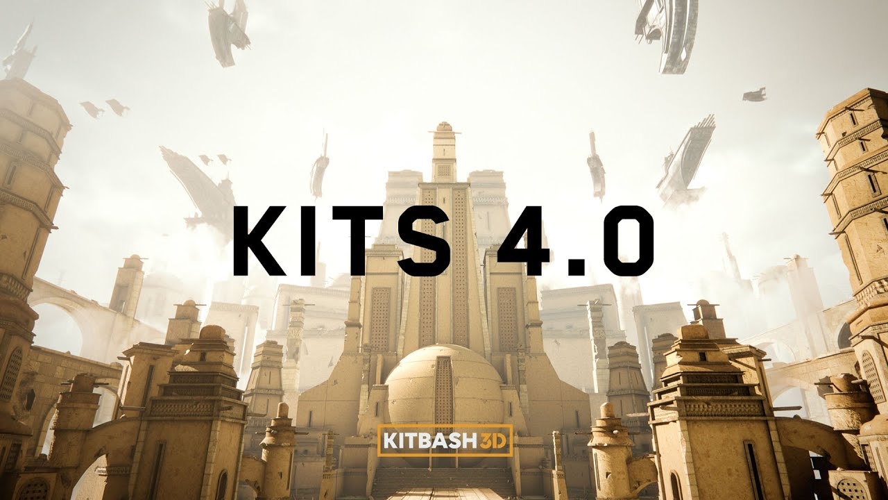KitBash3DがUnreal、Unity、Houdini対応