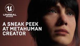 デジタルヒューマンをモデル化するツール「MetahumanCreator」スニークピーク