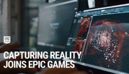 Epic GamesがCapturingRealityを買収