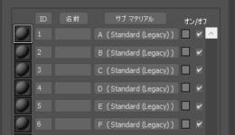 FBXファイルを標準マテリアルで読み込む方法